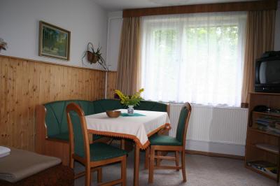 Sitzecke in der Ferienwohnung